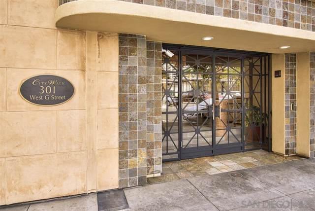 301 W G Street #302, San Diego, CA 92101 (#190056651) :: Dannecker & Associates