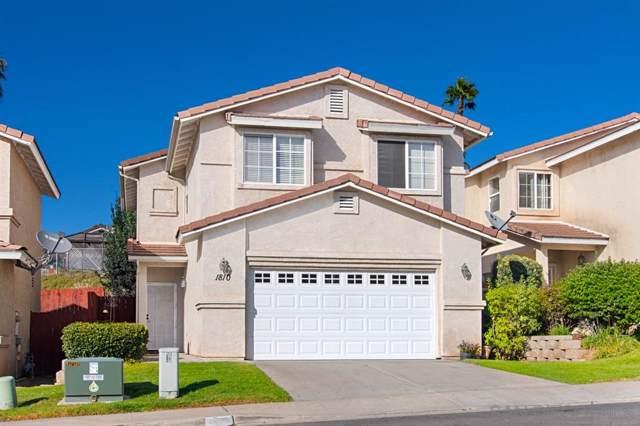 1810 Mcdougal, El Cajon, CA 92021 (#190056900) :: Neuman & Neuman Real Estate Inc.