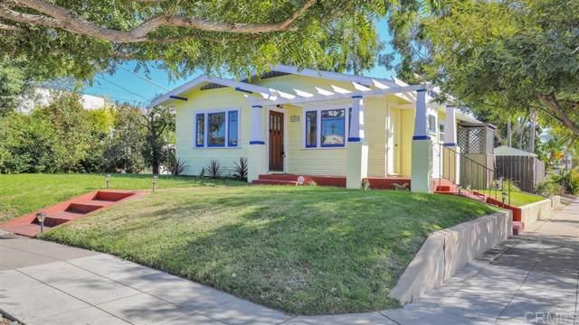 3205 Juniper St, San Diego, CA 92104 (#190057029) :: The Stein Group