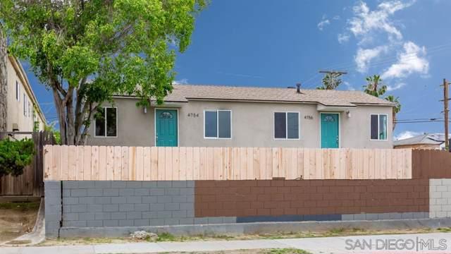 4754-4756, 4760 Polk Ave, San Diego, CA 92105 (#190057310) :: Farland Realty