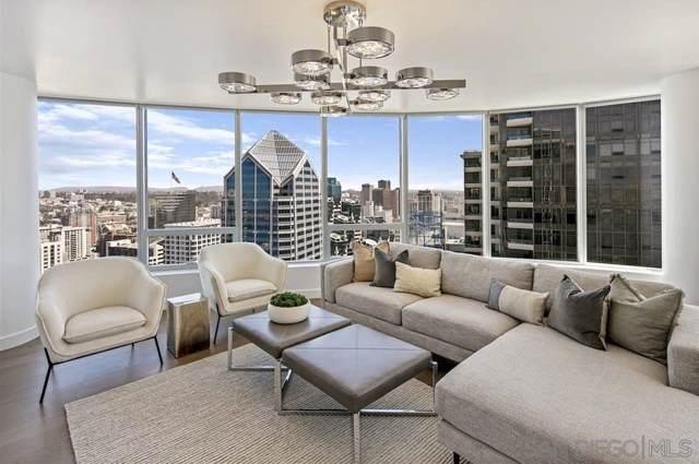 888 W E Street #3804, San Diego, CA 92101 (#190057326) :: Neuman & Neuman Real Estate Inc.