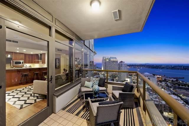 700 W E Street #3001, San Diego, CA 92101 (#190057365) :: Whissel Realty