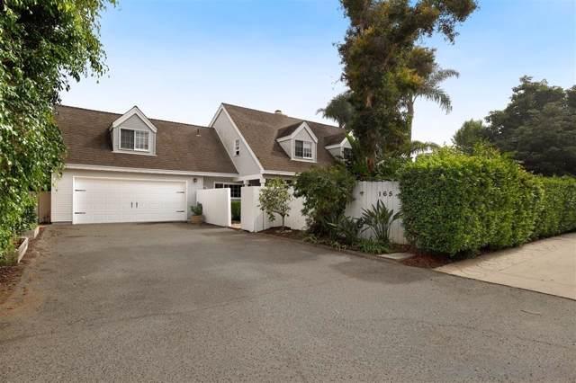 165 Hillcrest Dr, Encinitas, CA 92024 (#190057501) :: Neuman & Neuman Real Estate Inc.
