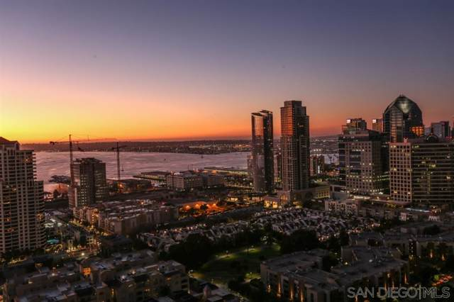 550 Front St #2802, San Diego, CA 92101 (#190059147) :: Whissel Realty