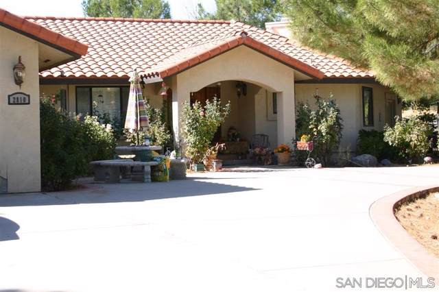 2808-10 Ribbonwood Rd, Boulevard, CA 91905 (#190060107) :: Neuman & Neuman Real Estate Inc.