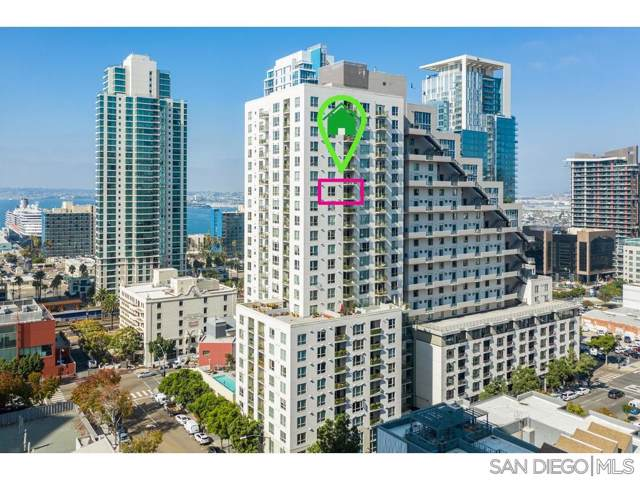 1240 India St #1804, San Diego, CA 92101 (#190060771) :: Cay, Carly & Patrick | Keller Williams