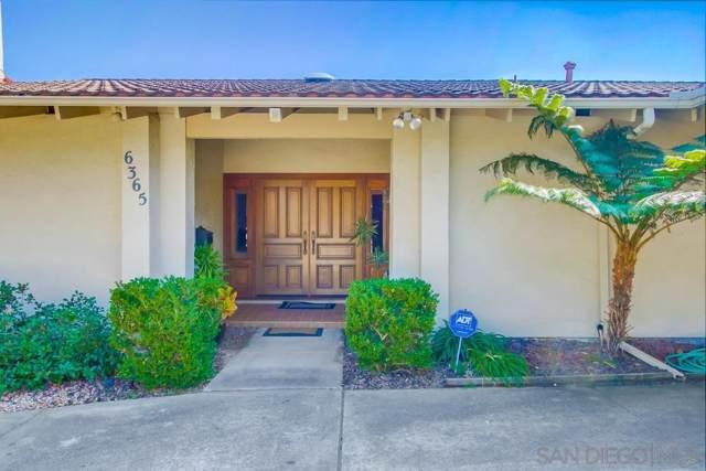 6365 Del Paso Ave, San Diego, CA 92120 (#190060940) :: Neuman & Neuman Real Estate Inc.