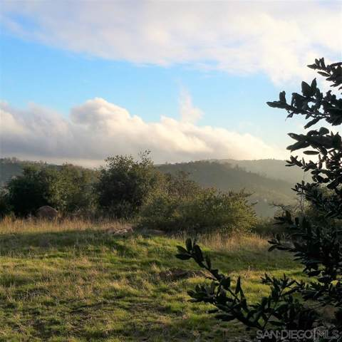 13.96 ac Slumbering Oaks Trl -, Julian, CA 92036 (#190061138) :: Ascent Real Estate, Inc.