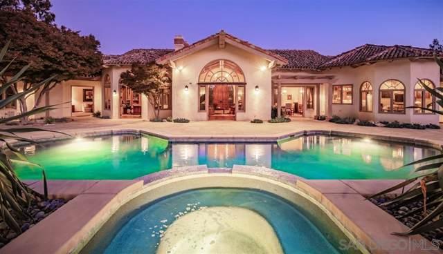 16330 Los Arboles, Rancho Santa Fe, CA 92067 (#190061227) :: The Stein Group