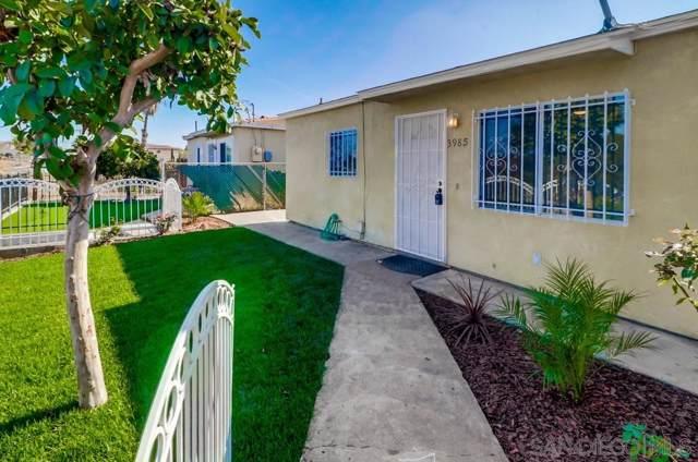 3985 C Street, San Diego, CA 92102 (#190061848) :: Cane Real Estate