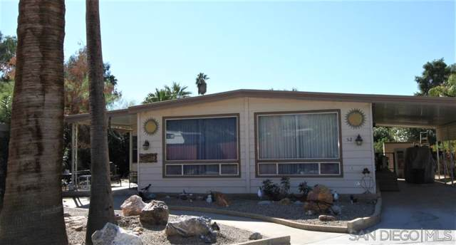 1010 Palm Canyon Dr #52, Borrego Springs, CA 92004 (#190061851) :: Whissel Realty