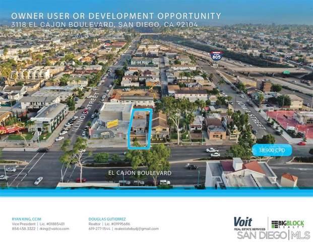 3118-20 El Cajon Blvd, San Diego, CA 92104 (#190061917) :: Keller Williams - Triolo Realty Group