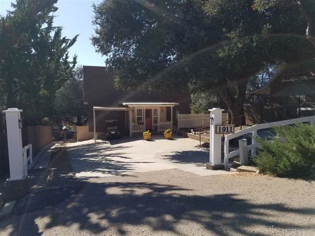 1911 2nd  St, Julian, CA 92036 (#190061992) :: Whissel Realty