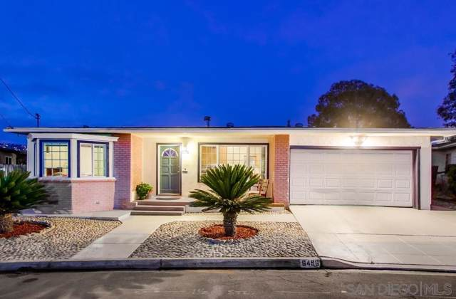 6496 Cleo St, San Diego, CA 92115 (#190063927) :: The Stein Group