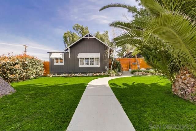 4669 Palm Ave, La Mesa, CA 91941 (#190064385) :: Whissel Realty
