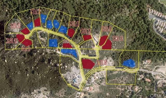LOT 20 Tall Oak Drive #20, Escondido, CA 92026 (#190064457) :: Cane Real Estate