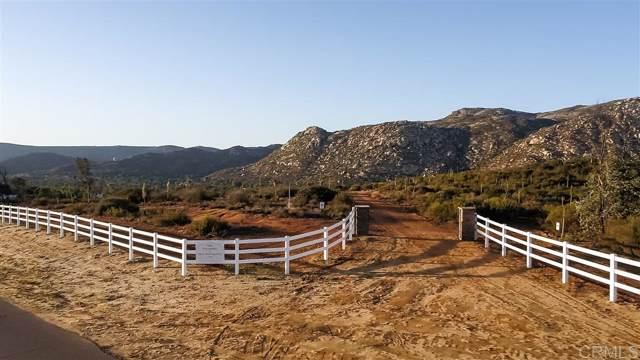 0000 Palomino Rancho Barona Rd Parcel C, Ramona, CA 92065 (#190064519) :: Neuman & Neuman Real Estate Inc.