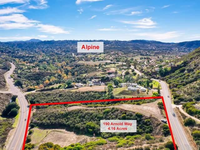190 Arnold Way #0, Alpine, CA 91901 (#190064894) :: Neuman & Neuman Real Estate Inc.