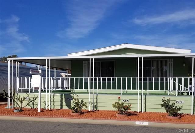 200 N El Camino Real #27, Oceanside, CA 92058 (#190065114) :: Allison James Estates and Homes