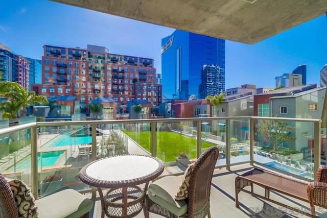 800 The Mark Ln #211, San Diego, CA 92101 (#190065765) :: Neuman & Neuman Real Estate Inc.