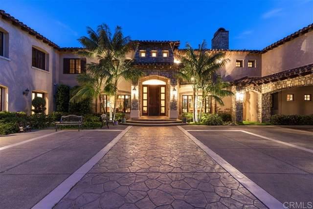 17656 Las Repolas, Rancho Santa Fe, CA 92067 (#200000181) :: Allison James Estates and Homes