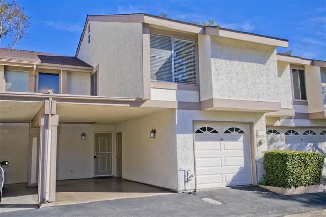 5430 Baltimore Drive #81, La Mesa, CA 91942 (#200000538) :: Neuman & Neuman Real Estate Inc.
