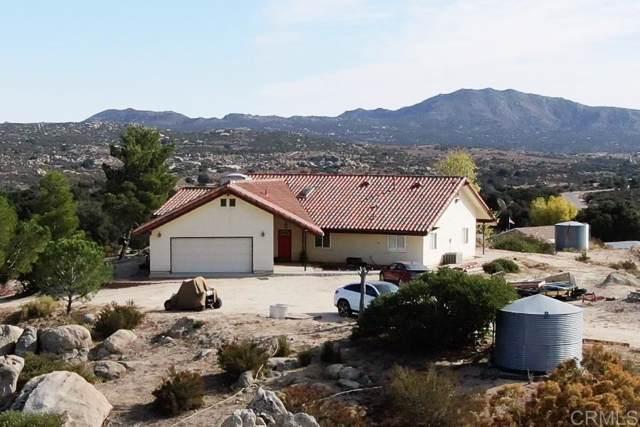 39375 Clements St, Boulevard, CA 91905 (#200000603) :: Neuman & Neuman Real Estate Inc.