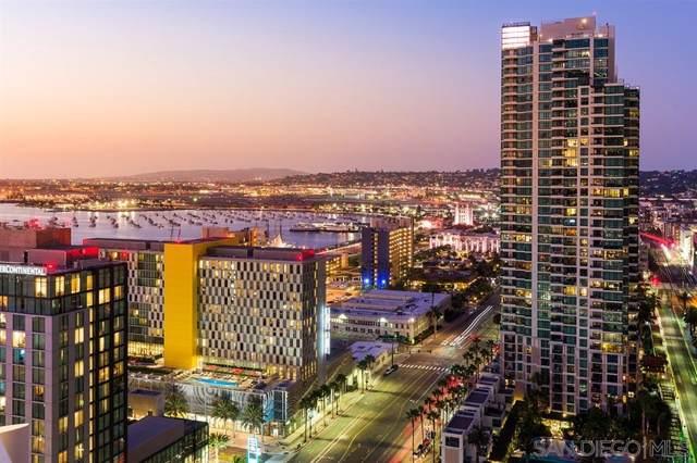 888 W E Street #2506, San Diego, CA 92101 (#200002081) :: Compass