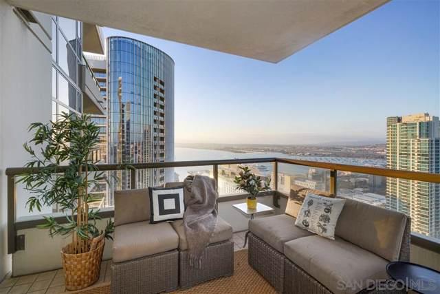 700 W E Street #3203, San Diego, CA 92101 (#200002166) :: Neuman & Neuman Real Estate Inc.