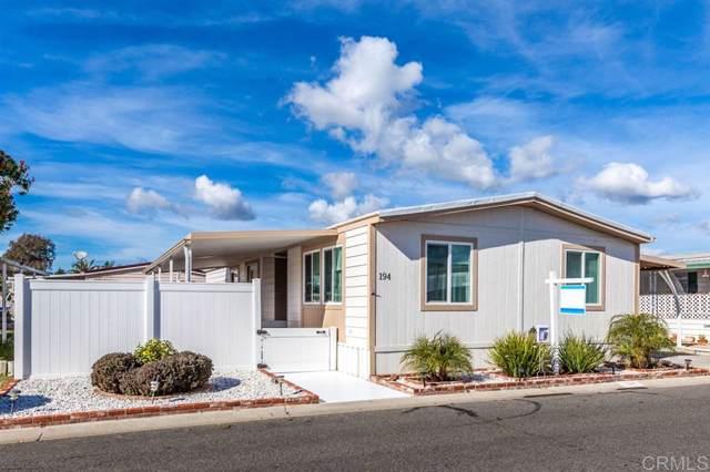 200 N El Camino Real #194, Oceanside, CA 92058 (#200003125) :: Keller Williams - Triolo Realty Group