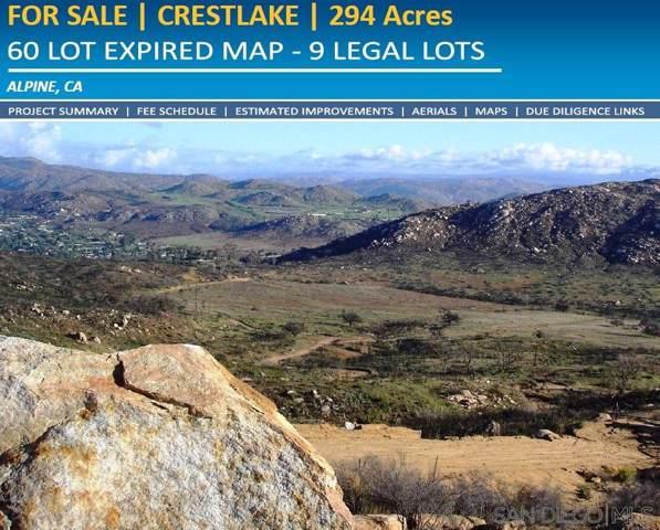 0000 Viewside Lane #000, El Cajon, CA 92021 (#200003254) :: Whissel Realty
