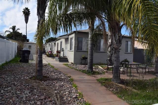 3764-70 Menlo Ave, San Diego, CA 92105 (#200003301) :: Neuman & Neuman Real Estate Inc.