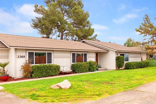 1369 Granite Hills Dr, El Cajon, CA 92019 (#200003379) :: Whissel Realty