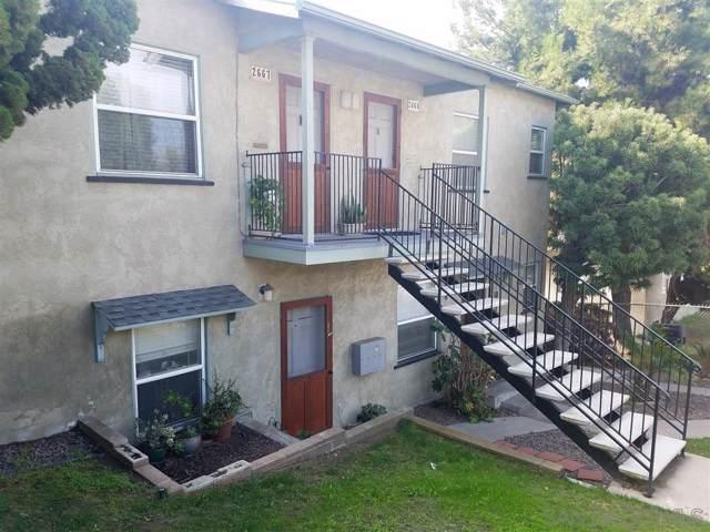 2663-2667 E Street, San Diego, CA 92102 (#200003572) :: Dannecker & Associates