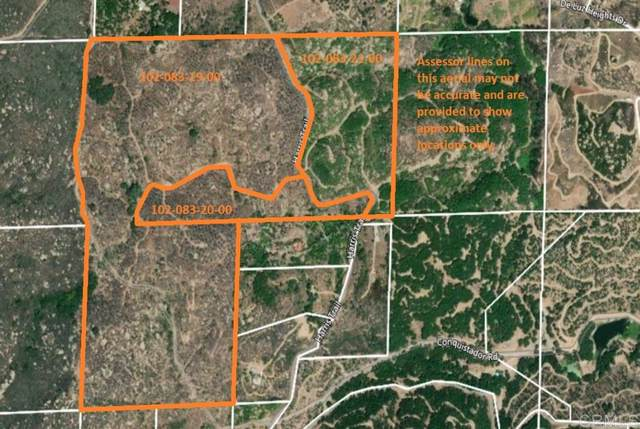0 Harris Truck Trail 124.52 Acres #124, Fallbrook, CA 92028 (#200003637) :: Zember Realty Group