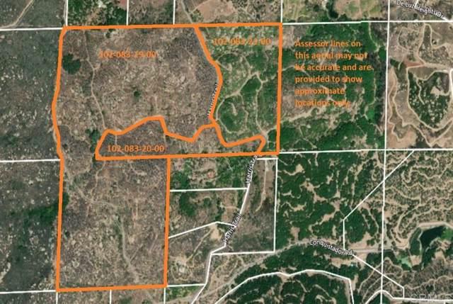 0 Harris Truck Trail 124.52 Acres #124, Fallbrook, CA 92028 (#200003637) :: Allison James Estates and Homes