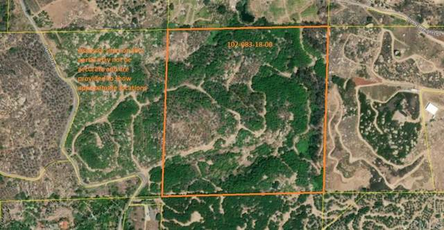 0 Harris Trail 39.98 Acres #39, Fallbrook, CA 92028 (#200003719) :: Zember Realty Group