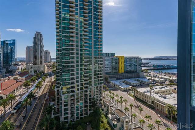 1325 Pacific Hwy #1704, San Diego, CA 92101 (#200003805) :: Zember Realty Group