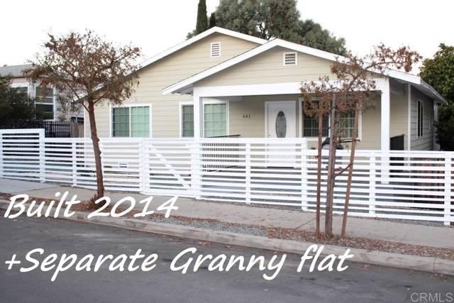 641 Quail St, San Diego, CA 92102 (#200003857) :: Dannecker & Associates