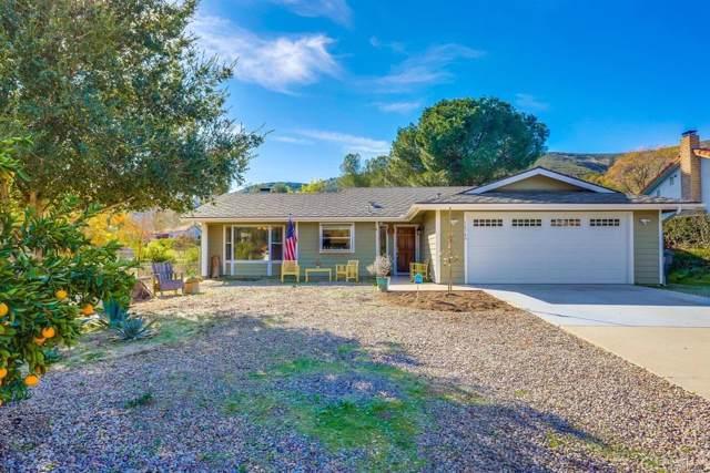 16340 Oakley Rd, Ramona, CA 92065 (#200003938) :: Neuman & Neuman Real Estate Inc.