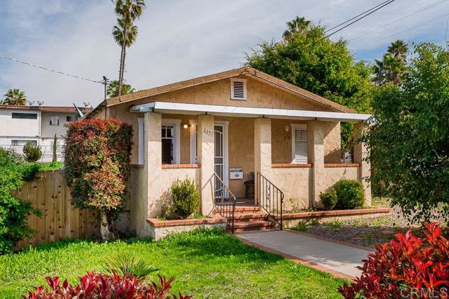 4451 Parks Ave, La Mesa, CA 91941 (#200004278) :: Whissel Realty