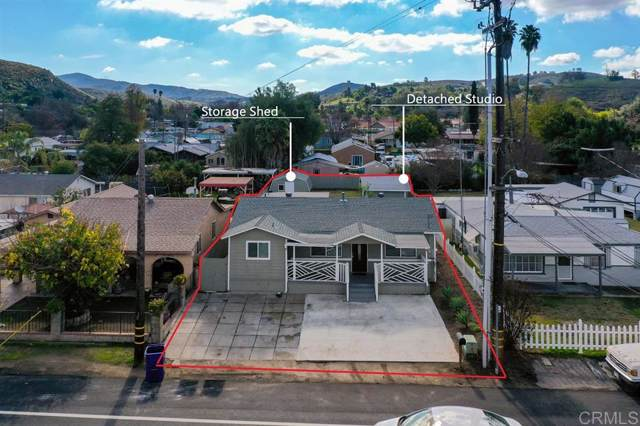 12515 Julian Ave, Lakeside, CA 92040 (#200004282) :: Farland Realty