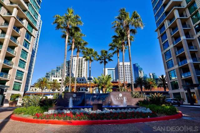 1205 Pacific Hwy #3702, San Diego, CA 92101 (#200004460) :: Compass