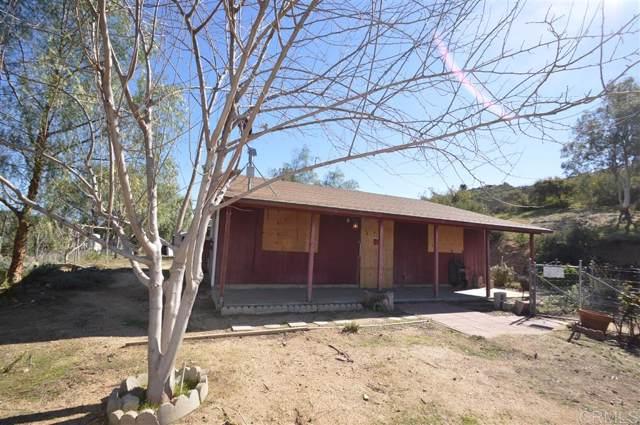 24961 Highway 94, Potrero, CA 91963 (#200005331) :: Keller Williams - Triolo Realty Group