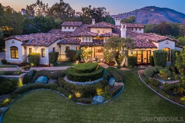 18363 Calle La Serra, Rancho Santa Fe, CA 92091 (#200006903) :: Allison James Estates and Homes