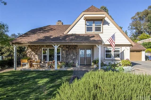 718 Ronica Way, Fallbrook, CA 92028 (#200006983) :: Neuman & Neuman Real Estate Inc.