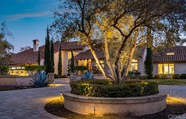 7017 Las Colinas, Rancho Santa Fe, CA 92067 (#200007276) :: Cane Real Estate