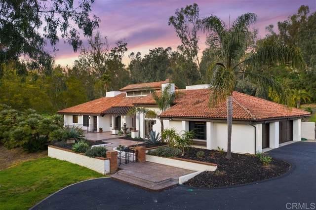 4610 El Nido, Rancho Santa Fe, CA 92067 (#200007642) :: Allison James Estates and Homes