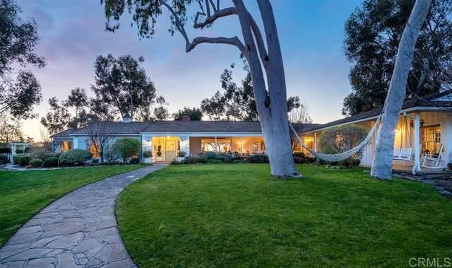 17458 Los Morros, Rancho Santa Fe, CA 92067 (#200007952) :: Allison James Estates and Homes