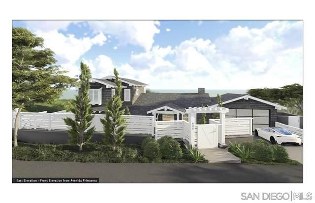 625 Avenida Primavera, Del Mar, CA 92014 (#200009628) :: Keller Williams - Triolo Realty Group